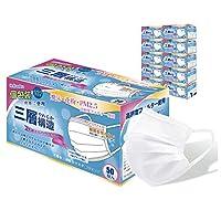 【Amazon.co.jp 限定】日本国内検品 個包装 マスク(50枚x10箱) ふつうサイズ 使い捨て 不織布 マスク ウイルス飛沫対策 VFE BFE PFE 99% 高性能カットフィルター