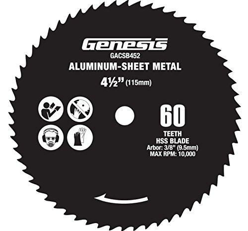 disco sierra circular para aluminio fabricante Genesis