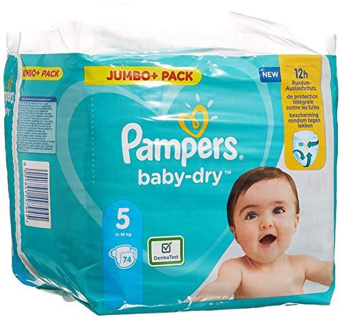 Pampers Baby-Dry Pants Pants - Lote de 2 pañales