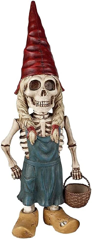 Zombie Gnome Statues Special price for a limited time Resin Sculpture Excellence Scu Garden Decor Skeleton