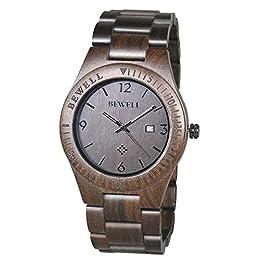 sicuramente una particolare di orologi per lui questo orologio è fabbricato in legno fatto a mano di alta qualità a partire da materie prime naturali di legno di sandalo.e 'speciale, dal n. 2 pezzi di legno sono uguali una grande ispirazione dalla na...