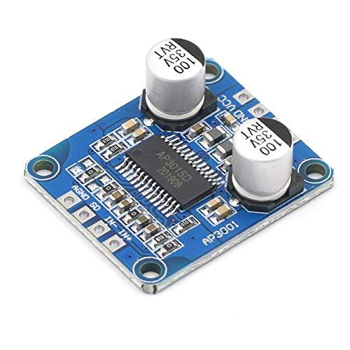 YEZIO Módulo de Sensor electrónico DC 8V-24V de Alta Potencia Amplificador Digital Módulo D Mono 4-8ohm por 30W-300W Altavoz Clase Tablero del Amplificador de Potencia de Audio