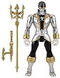 Power Rangers Super Megaforce - 5' Silver Ranger Action Hero