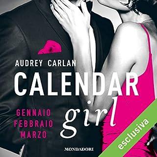 Calendar Girl. Gennaio, Febbraio, Marzo. copertina