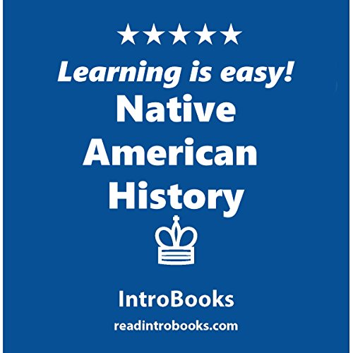 Native American History audiobook cover art