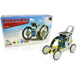 14-in-1 Educational Solar Robot | Build-Your-Own Robot Kit | Powered...