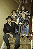 The Bee Gees with Brother Andy Gibb Photo Print (20,32 x