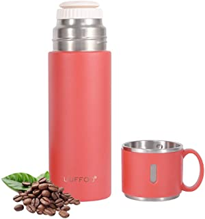 Thermos cup Stainless Steel Vacuum Flask, Double Wall Insulated Water Bottle, Car Portable Travel...