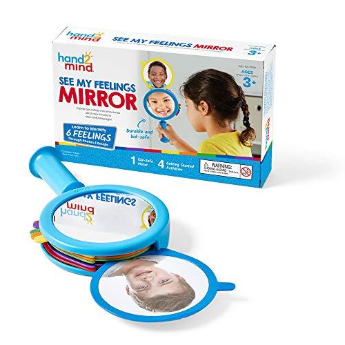 hand2mind See My Feelings Mirror, Social Emotional Learning,...