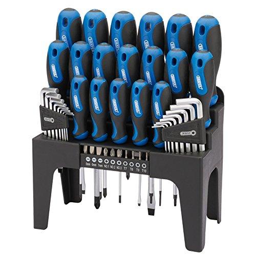 Draper 865/44 - Autista set più stare in piedi - blu (44 pezzi)