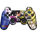 Skinit Decal Gaming Skin for PS3 Dual Shock Wireless Controller - Officially Licensed Dragon Ball Z Dragon Ball Z Goku Forms Design