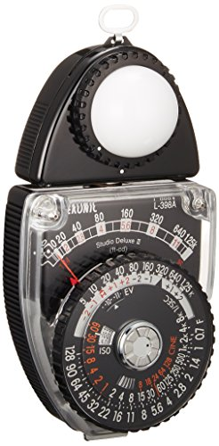 Sekonic L-398A Light Meter Studio Deluxe III (401-399),Black