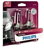 Philips H7 VisionPlus Upgrade Headlight Bulb with...