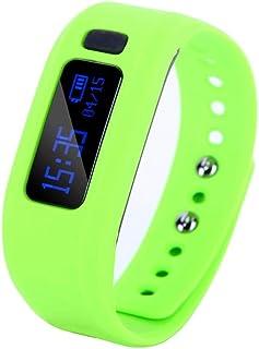 YANGSANJIN Fitness Tracker, Pulsera Activity Fitness Health Tracker Monitor Pulsera Inteligente Bluetooth con Monitor de sueño Podómetro para teléfonos Inteligentes Android e iOS