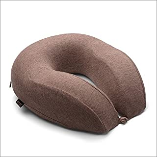2 Colors Portable Travel Pillow U-shaped Neck Pillow Lightweight Soft Office Nap Memory Foam Support Neck Head Cushion (Color : A)