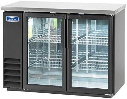 Arctic Air ABB48G Glass 49 Inch 2 Door Back Bar Refrigerator 115v product image