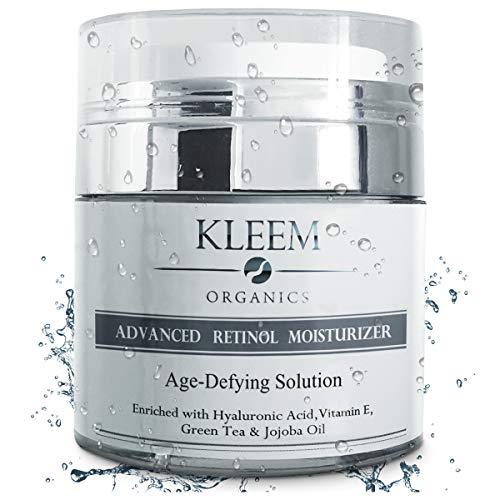 Pure Anti-Wrinkle Face & Neck Retinol Cream with Hyaluronic Acid - Premium Anti-Aging Face...