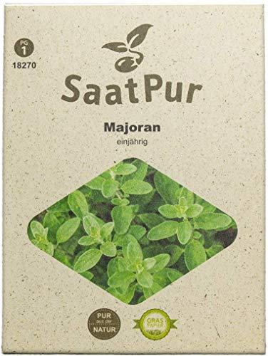 SaatPur Majoran Samen, Saatgut für ca. 500 Pflanzen