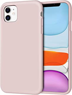 iPhone 11 Case, Anuck Soft Silicone Gel Rubber Bumper Phone Case with Anti-Scratch Microfiber Lining Hard Shell Shockproof Full-Body Protective Case Cover for Apple iPhone 11 6.1