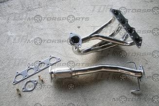 Tri-Y Stainless Steel Exhaust Header Kit compatible with 2002-2006 Mitsubishi Lancer ES/LS/OZ 2.0L 4G94