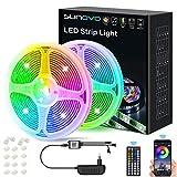 LED Strip 10M, LED Streifen Farbwechsel Lichtkette...