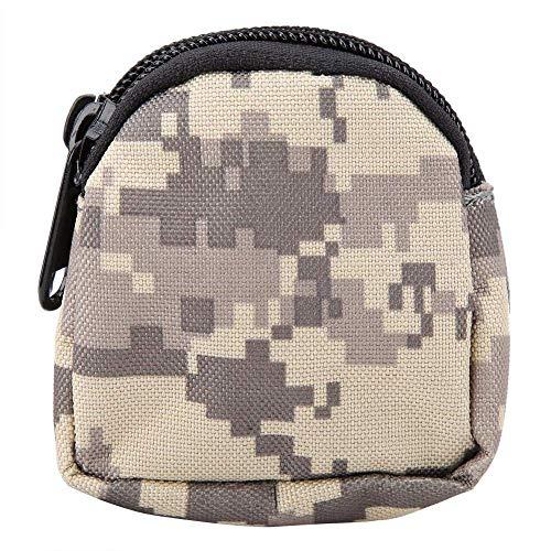 LXDDP Camouflage Taillentasche Gürtel Taille Packtasche Tragbare Ultraligh Zipper Taillentasche zum Wandern Gehen Radfahren Klettern Angeln