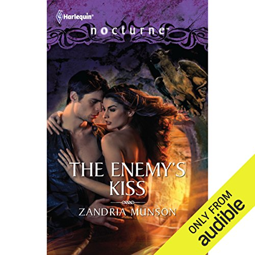 The Enemy's Kiss audiobook cover art