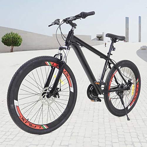 26 Zoll Mountainbike, Outdoor Trekkingrad Fitness Bike 21 Gang Jungen-Fahrrad Herren-Fahrrad Damenfahrrad
