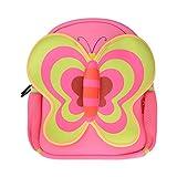 Kids Backpacks, Georgie Porgy [Cute] Kids Backpacks Girls Boys Backpacks Best [School] [Hiking] [Travel] Sidekick Bags, Cute Butterfly Pack Backpacks, Hot Pink