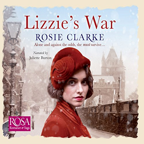 Lizzie's War audiobook cover art
