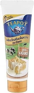 Tea Pot Sweetened Condensed Milk Beverage Creamer Squeezable Tube ( Pack of 2 Tubes )