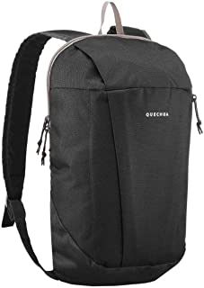 NH100 Kids Adults X-Sports Decathlon 10L Outdoor Multipurpose BACKPACK - BLACK