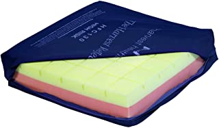 NRS Healthcare Reflect Castellated Memory Foam Cushion - Pressure Care (Eligible for VAT Relief in The UK)