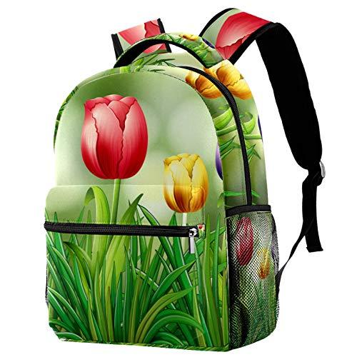 Mochila de girasol brillante sobre fondo de madera para la escuela, universidad, bolsa de libros, senderismo, mochila de viaje para mujeres y hombres