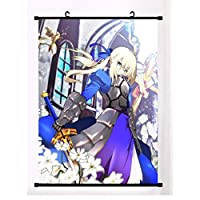 ウォールスクロール壁画ポスターアニメFate/staynightオタク家の装飾アートコレクションアニメーション周辺ファンギフト-50x75cm,20inchx30inch