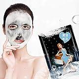 Bubble Purifying Charcoal Sheet Mask - Tiefenreinigende Aktivkohle-Gesichtsmaske für die Hautpflege