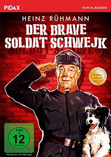 Der brave Soldat Schwejk / Berühmte mit dem PRÄDIKAT WERTVOLL ausgezeichnete Romanverfilmung mit Starbesetzung (Pidax Film-Klassiker)