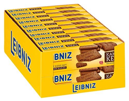 LEIBNIZ Kakaokeks - 20er Pack - Vorratsbox - Kekse mit leckerem Kakao (20 x 200 g)
