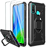 Milomdoi [Case with 2 pack] Cover for Huawei P smart 2020
