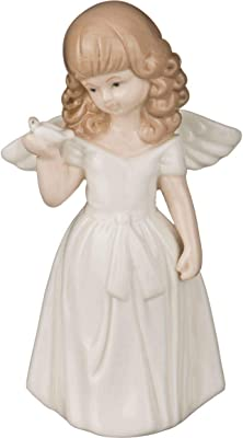 Lefard 4.7 Inch an Angel - Hand Crafted and Decorated Fine Chinese Porcelain, Figurine 146-431