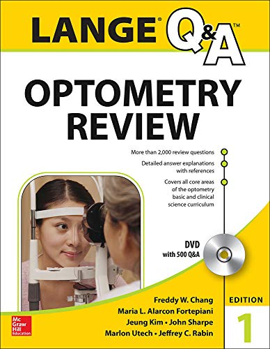 Compare Textbook Prices for Lange Q&A Optometry Review: Basic and Clinical Sciences 1 Edition ISBN 9780071816373 by Chang, Freddy,Fortepiani, Maria L. Alarcon,Kim, Jeung,Sharpe, John,Utech, Marlon,Rabin, Jeffrey
