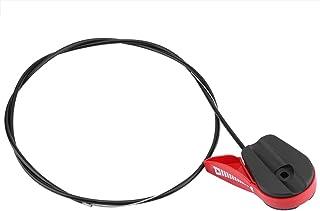 Manija de control Manija de control de la podadora de campo de plástico de fácil instalación, para todas las podadoras de ...