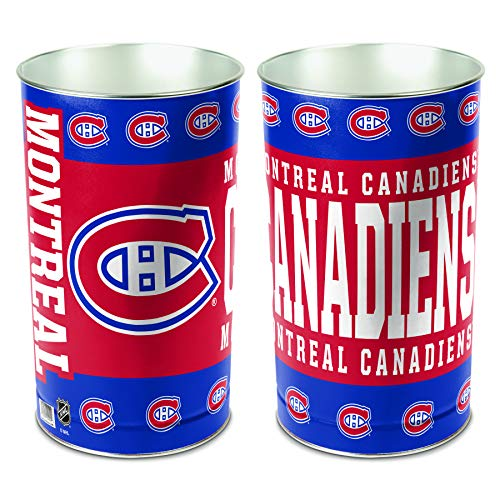 NHL Montreal Canadiens Wastebasket Tapered, 15