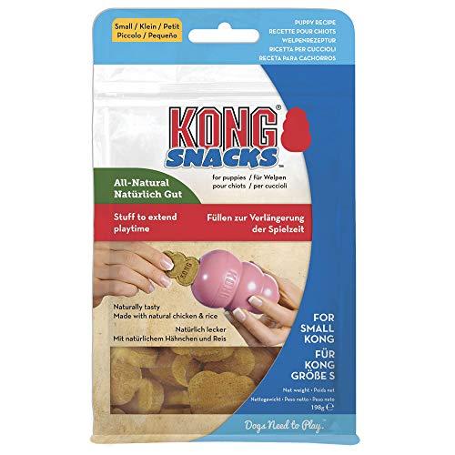 KONG - Snacks - Golosinas para Perros (Ideal para los Juguetes de Caucho Galletas Naturales - para Perros de Raza Pequeña 🔥