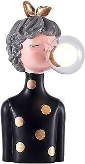ZZL Lampe de Table Vintage Lampe de Table Mignonne Night Light,Lampe de Bureau de Style Nordique Petite Lampes de Nuit de ...