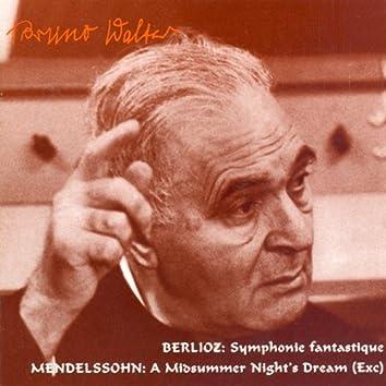 Berlioz: Symphonie Fantastique / Mendelssohn: A Midsummer Night's Dream (Walter) (1948, 1954)