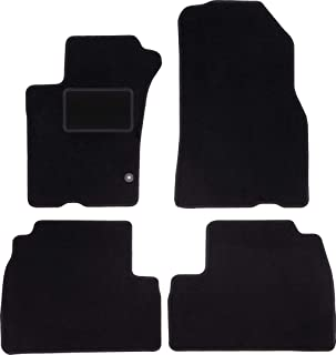 - negro aguja fieltro 4tlg Alfombras tapices de Mercedes M w163 1997-2005 ojales clips