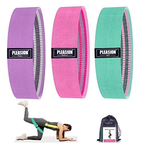 cintas elasticas musculacion mujer pilates Marca PLEASION