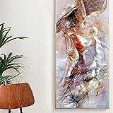 Diamond Painting,Mujer sexy abstracta DIY Diamante Pintura Kits,5D Diamond Painting Kit para Adultos Niños,Diamante Pintura por Números Kit,para el Hogar Decoración de la pared 90x180cm/35x71in