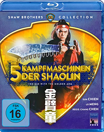 Die 5 Kampfmaschinen der Shaolin - The Kid With The Golden Arm  (Shaw Brothers Collection) (Blu-ray)